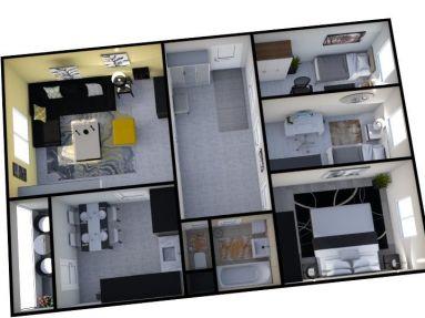 Predaj 4 izb.byt s loggiou, Bratislava - Karlova Ves