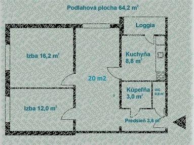 Predaj 3i byt + loggia, Bratislava - Ružinov, Sedmokráskova