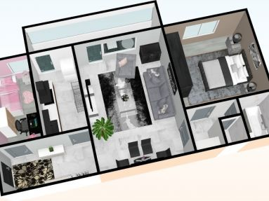 Predaj 3izb.byt s balkónom, Bratislava - Ružinov, Svidnícka