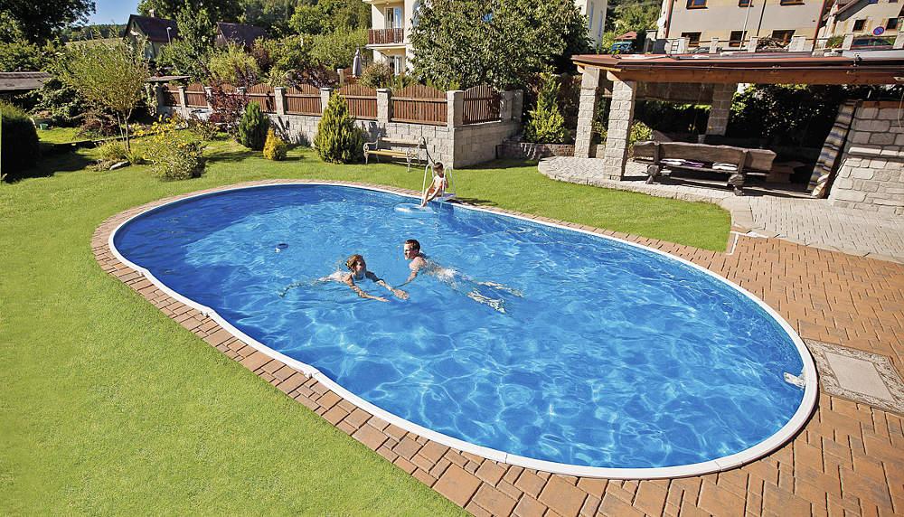Bazén, bazény dookola