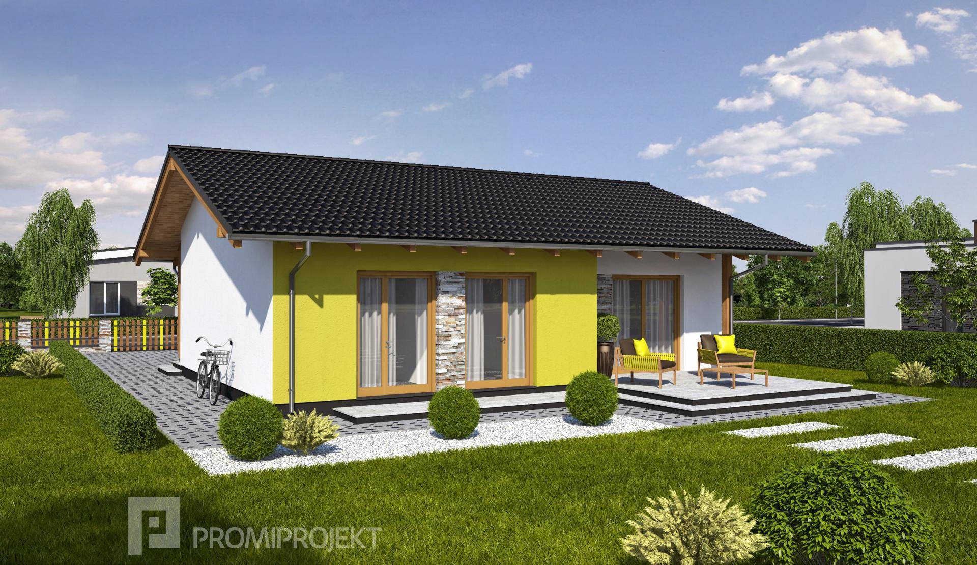 Projekt rodinného domu Laguna 8