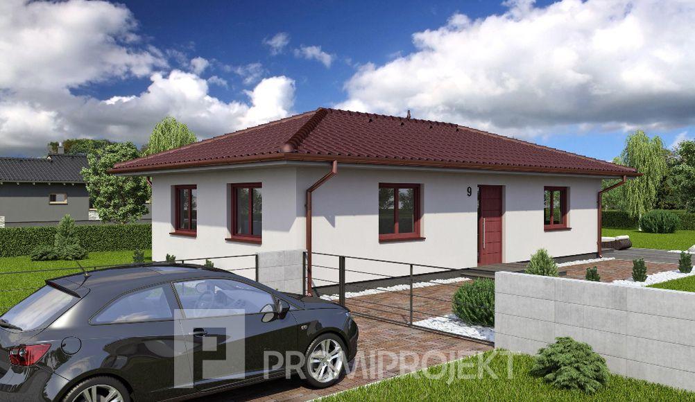 Projekt rodinného domu Laguna 9
