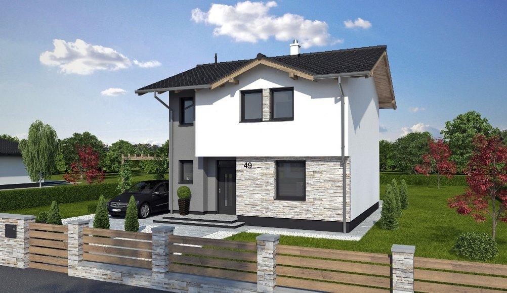 Projekt rodinného domu Trend 49